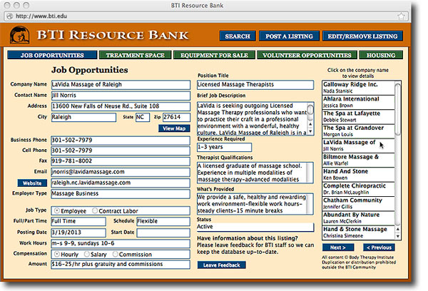 BTI Resource Bank